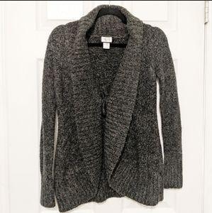 Motherhood Maternity Charcoal Gray Soft Sweater
